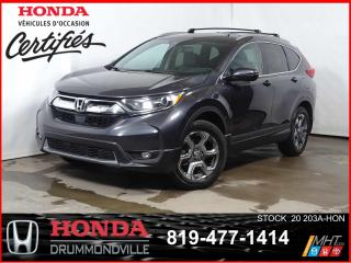 Used 2018 Honda CR-V EX-L+AWD+CUIR+TOIT+CAMÉRA+MAG+BLUETOOTH++ for sale in Drummondville, QC