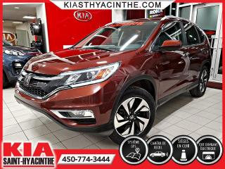 Used 2016 Honda CR-V Touring AWD ** NAVI / CUIR / TOIT for sale in St-Hyacinthe, QC