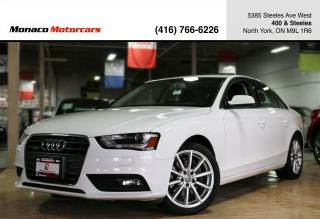 Used 2014 Audi A4 PROGRESSIV - NAVIGATION|SUNROOF|PUSHSTART|HTD SEAT for sale in North York, ON