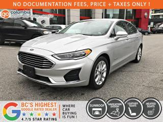 Used 2019 Ford Fusion Hybrid SEL Hybrid - Nav / Sunroof / Leather / Heated Seats for sale in Richmond, BC