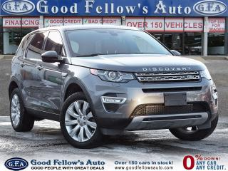 Used 2016 Land Rover Discovery Sport SPORT HSE LUXURY, 4WD, 2.0L 4CYL, REARVIEW CAMERA for sale in Toronto, ON