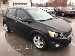 Used 2012 Chevrolet Sonic LT ** SUNROOF, HTD SEATS, REM.START, CRUISE ** for sale in St Catharines, ON