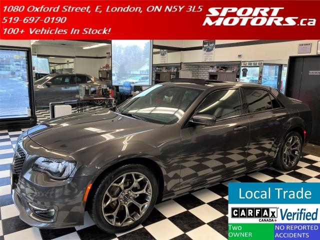 2017 Chrysler 300 300S+Pano Roof+AppleCarplay+NewTires+AccidentFree