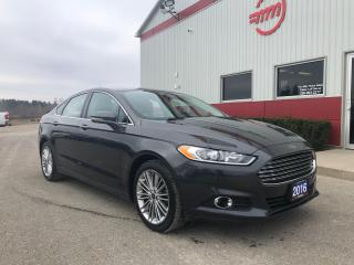 Used 2016 Ford Fusion SE AWD, leather, navigation for sale in Tillsonburg, ON
