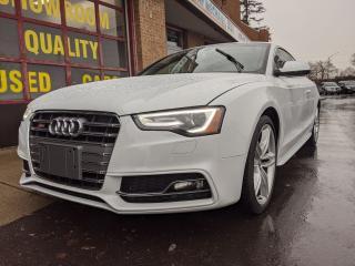 Used 2016 Audi S5 S5 TECHNIK +, AWD, 3.0T, 20800 KM, ONE OWNER for sale in Burlington, ON