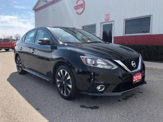 Used 2016 Nissan Sentra SR Navigation, Leather for sale in Tillsonburg, ON