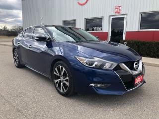 Used 2017 Nissan Maxima Platinum loaded Leather, Navigation for sale in Tillsonburg, ON