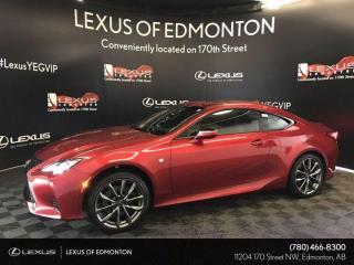New 2020 Lexus RC 300 F Sport Series 2 for sale in Edmonton, AB