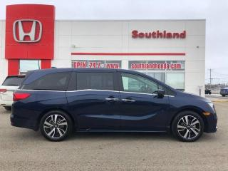 Used 2018 Honda Odyssey Touring for sale in Winkler, MB