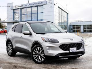 New 2020 Ford Escape Titanium Hybrid Rmte Strt | Prem Pkg | PanoRoof for sale in Winnipeg, MB