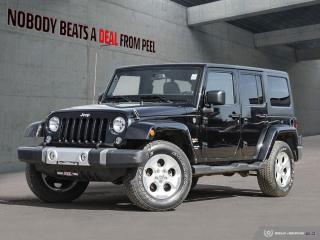 Used 2014 Jeep Wrangler Unlimited Clean*Tow Hooks*Siriusxm* for sale in Mississauga, ON