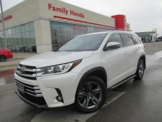 Used 2019 Toyota Highlander AWD Limited | NAVIGATION | SUNROOF | for sale in Brampton, ON