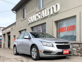 Used 2015 Chevrolet Cruze 4dr Sdn 1LT for sale in Hamilton, ON