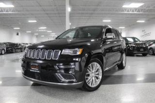 Used 2017 Jeep Grand Cherokee SUMMIT I BALANCE OF 5 YEAR 100,000 KM CPO WARRANTY for sale in Mississauga, ON