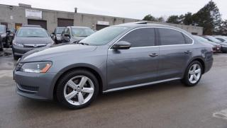 Used 2012 Volkswagen Passat 2.5L SE CERTIFIED 2YR WARRANTY *2ND SET WINTER* SUNROOF BLUETOOTH HEATED LEATHER for sale in Milton, ON