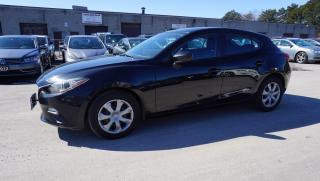 Used 2014 Mazda MAZDA3 GX-SKY HB CERTIFIED 2YR WARRANTY BLUETOOTH PUSH START AUX for sale in Milton, ON