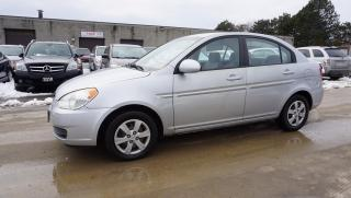 Used 2008 Hyundai Accent GLS SEDAN CERTIFIED 2YR WARRANTY KEYLESS AUX POWER OPTIONS for sale in Milton, ON