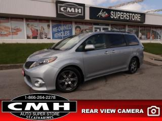Used 2017 Toyota Sienna SE FWD 8-Passenger  LEATH 10W-PSEAT CAM for sale in St. Catharines, ON