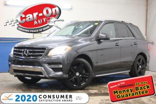 Used 2014 Mercedes-Benz ML-Class ML350 BlueTEC 4MATIC Premium Diesel LOADED for sale in Ottawa, ON