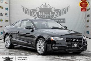 Used 2016 Audi A5 Progressiv plus, NO ACCIDENT, AWD, S-LINE, COUPE, NAVI, SUNROOF for sale in Toronto, ON