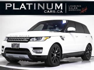 Used 2016 Land Rover Range Rover Sport HSE Td6, DIESEL, 7 PASSENGER, NAV, PANO, CAM for sale in Toronto, ON