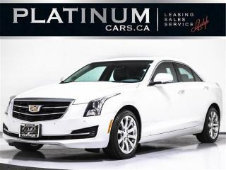 Used 2017 Cadillac ATS 2.0T Luxury, AWD, NAV, CAM, BOSE AUDIO, SUNROOF for sale in Toronto, ON