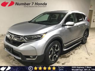 Used 2018 Honda CR-V Touring| Loaded| Leather| Navi| for sale in Woodbridge, ON
