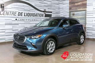 Used 2019 Mazda CX-3 GS+AWD+TOIT/OUVR+CAMER/REC+MAGS+BLUETOOTH for sale in Laval, QC
