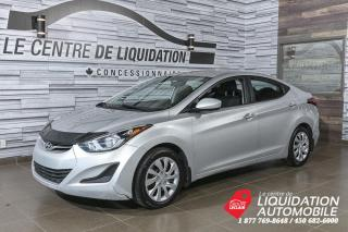 Used 2015 Hyundai Elantra GL+A/C+GR/ELEC+BLUETOOTH for sale in Laval, QC