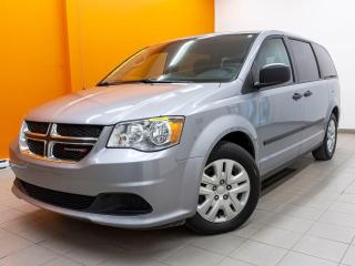 Used 2017 Dodge Grand Caravan SE TOURING *STOW'N'GO ARR* A/C *BAS KM* PROMO for sale in St-Jérôme, QC