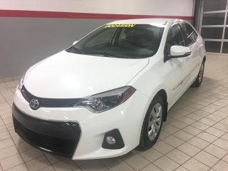 Used 2015 Toyota Corolla CVT / S / AUTO for sale in Terrebonne, QC