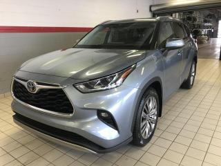 Used 2020 Toyota Highlander Platinum for sale in Terrebonne, QC