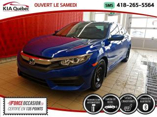 Used 2017 Honda Civic LX* AT* CAMERA* SIEGES CHAUFFANTS* for sale in Québec, QC