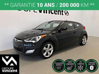 Used 2013 Hyundai Veloster CLIMATISEUR ** GARANTIE 10 ANS ** Beau véhicule à bon prix! for sale in Shawinigan, QC