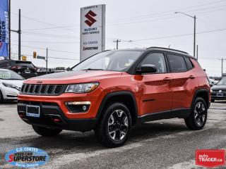 Used 2017 Jeep Compass Trailhawk 4x4 ~Nav ~Backup Cam ~Heated Seats/Wheel for sale in Barrie, ON
