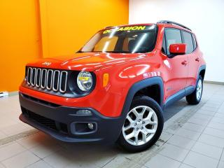 Used 2016 Jeep Renegade NORTH 4X4 TOIT MYSKY SIÈGES / VOLANT CHAUFF *NAV* for sale in Mirabel, QC