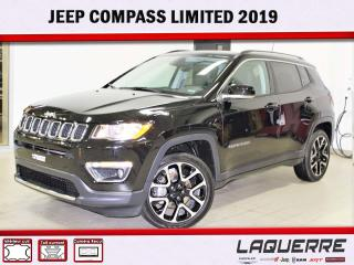Used 2019 Jeep Compass LIMITED for sale in Victoriaville, QC