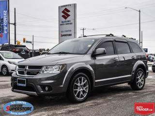 Used 2012 Dodge Journey R/T AWD ~7 Passenger ~Heated Leather ~Moonroof for sale in Barrie, ON