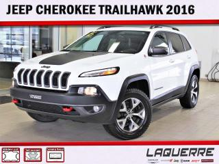 Used 2016 Jeep Cherokee Trailhawk for sale in Victoriaville, QC