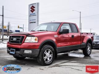 Used 2005 Ford F-150 FX4 Super Cab 4x4 ~Trailer Tow Package ~Fog Lamps for sale in Barrie, ON