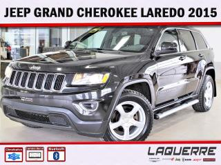 Used 2015 Jeep Grand Cherokee Laredo ** GROUPE REMORQUAGE ** for sale in Victoriaville, QC