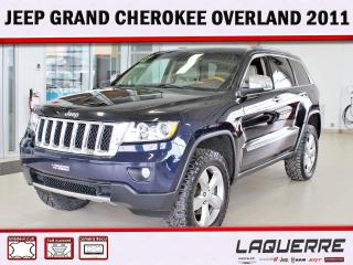 Used 2011 Jeep Grand Cherokee Overland for sale in Victoriaville, QC