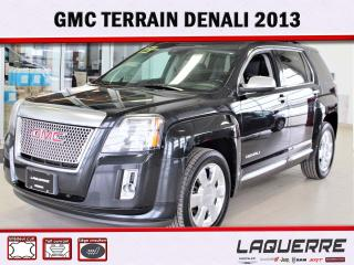 Used 2013 GMC Terrain Denali for sale in Victoriaville, QC