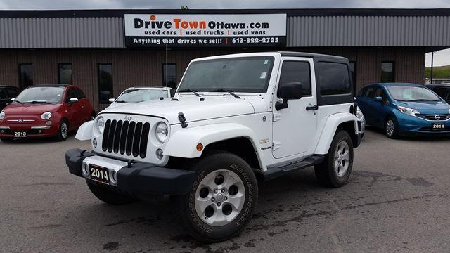 2014 Jeep Wrangler SAHARA 2DR 4X4  **90 Days no Payments**