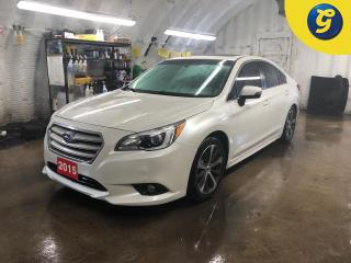 Used 2015 Subaru Legacy Limited * AWD * Navigation * Leather Seats * Sunroof/Moonroof * Heated Front/Back Seats * Power Windows/Locks/Mirrors/Seats *  Bluetooth * for sale in Cambridge, ON