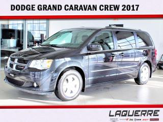 Used 2017 Dodge Grand Caravan Crew for sale in Victoriaville, QC