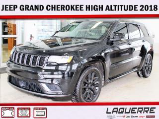 Used 2018 Jeep Grand Cherokee High Altitude ** V8 ** for sale in Victoriaville, QC
