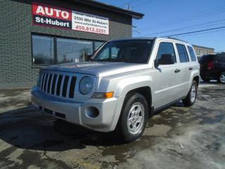 Used 2009 Jeep Patriot SPORT-A/C-CUIR for sale in St-Hubert, QC