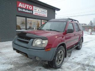 Used 2002 Nissan Xterra SE-SC 4X4 ** SUPERCHARGER ** for sale in St-Hubert, QC