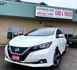 Used 2018 Nissan Leaf SL EV!!LEATHER!!HEATED STEERING WHEEL!!NAVIGATION!!REVERSE CAMERA!! for sale in Bolton, ON